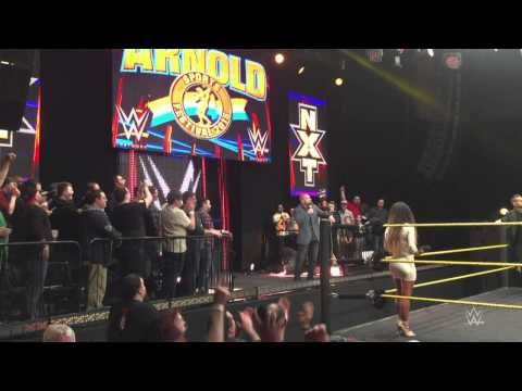 Triple H welcomes the crowd to the first NXT live event- Columbus, Ohio, March 5, 2015 - WWE Wrestling Video