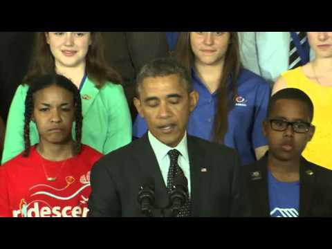Obama Congratulates Student Scientists News Video