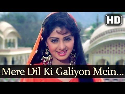 Mere Dil Ki Galiyon (HD) - Banjaran Songs - Rishi Kapoor - Sridevi - Alka Yagnik - Suresh Wadkar - Superhit Old Song