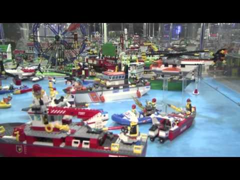 Raw- Famous Landmarks Made of Lego News Video