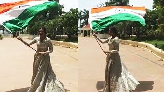 National Flag Hoisting By Huma Qureshi | Independence Day - 15th August