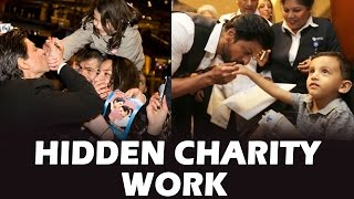 Shahrukh Khan & His Hidden Charity Work - Must Watch