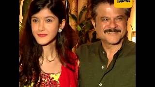Bollywood celebs appears at the Anil Kapoor's home for Karwa chauth