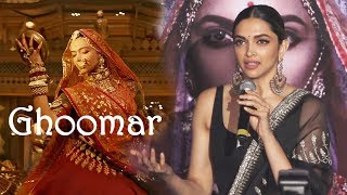 Deepika Padukone On Ghoomar DANCE In Padmavati | Padmavati 3D Trailer Launch
