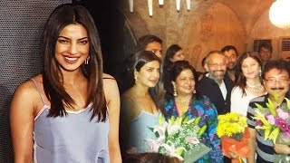 Priyanka Chopra At Marathi Film Ventilator - SUCCESS PARTY