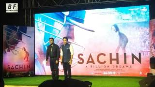 Sachin Sachin Song Launch | Sachin A Billon Dreams | Sachin , AR Rehman