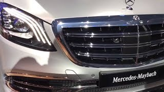 Auto Expo 2018- Mercedes Maybach S650 launched at Rs 2.73 crore | 'Made-in-India' with BS-VI engine