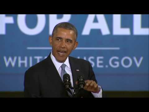 Obama- 'Taking the Next Step' in Fuel Efficiency News Video