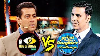 Salman Khan And Akshay Kumar BIGGEST CLASH On Television