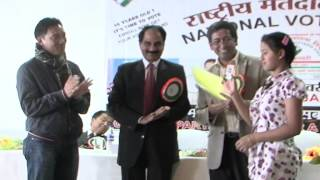 ARUNACHAL PRADESH- National Voters' Day, 2014 Celebration