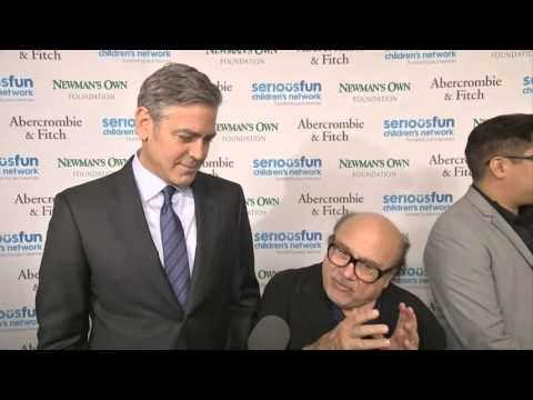 Clooney, Hanks Turn Out for Newman Gala News Video
