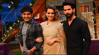 The Kapil Sharma Show - दी कपिल शर्मा शो - Shahid Kapoor and Kangana Ranaut - Rangoon