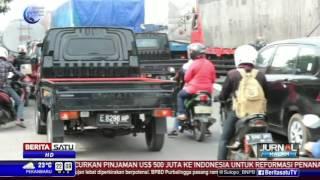 Truk Masih Boleh Melintas, Jalur Pantura Cirebon Padat