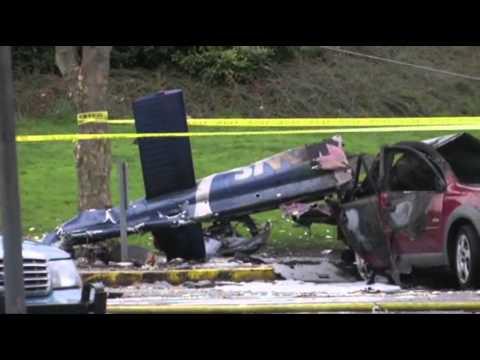 News Chopper Crashes Near Space Needle; 2 Dead News Video