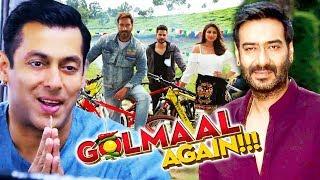 Salman THANKS Golmaal Again Team For Helping Being Human, Ajay Devgn Announces Golmaal 5