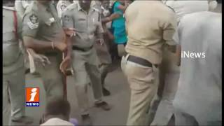 CPM Meeting Against Divis Laboratories at Danavai Peta | Police Arrests CPM Leaders | iNews