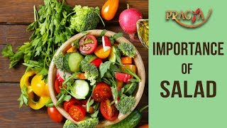 Importance Of Salad | Dr. Deepika Malik (Dietician)
