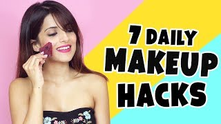 7 Daily Makeup Hacks | Tips Every Girl Should Know To Get Ready Faster | Knot Me Pretty