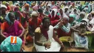 Dalit Farmers Protest Against Forest Officers In Buttapur | Nirmal District | iNews