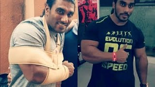 Sangram Chougule's Road to Recovery- Back to Gym after 3 Months