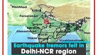 Strong tremors felt in Delhi, NCR