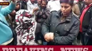 बिजनौर- प्रेमिका के साथ रंगरलियां मनाते दबोचा गया पटवारी