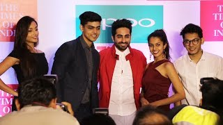 Ayushmann Khurana At Launch Of The 10th Edition Of OPPO Times Fresh Face