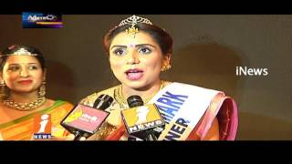 Srimathi Silk Mark Fashion Show Attracts Hyderabad Youth | Metro Colors | iNews