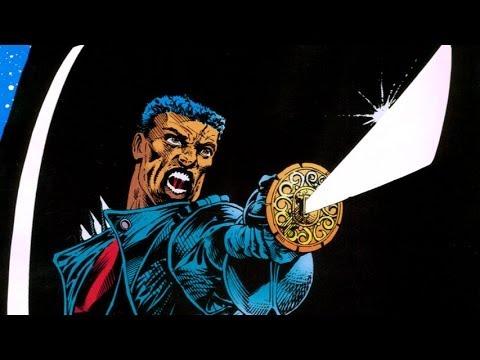 Superhero Origins- Blade