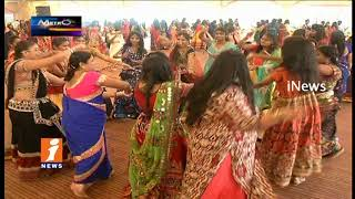 Dandiya Festival Celebrations In Hyderabad | Metro Colours | iNews