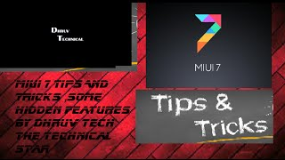 [HINDI] miui 7 tips and tricks and cool hidden features