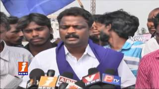 Mala Mahanadu Leaders Protest Against SC Classification In Ongole | Burns Venkaiah Effigy | iNews