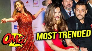 Shinde Shilpa ATTENDS Rivaayat Dancing Event, Salman-Deepika MOST TRENDING Bollywood Stars 2018