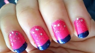 Easy Nail Art For Beginners: Summer Nails!!