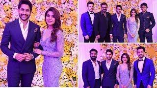 Samantha and Naga Chaitanya Wedding Reception Full Video | Celebrities at #ChaySam Reception