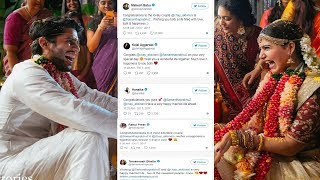 Celebs Shower Wishes On Newly Wed Couple Chay And Sam - Celebrity Wishes To New Couple In twitter