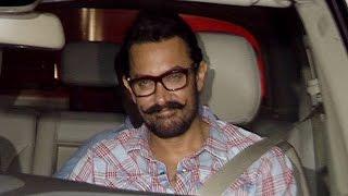 Aamir Khan SPOTTED Outside Imran Khan's House