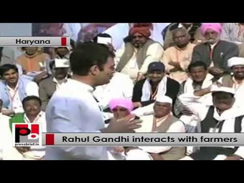 Rahul Gandhi interacts with farmers, says he doesn't want to market himself