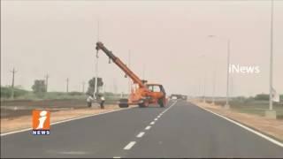CM Chandrababu House To Secretariat Route Changed in Amaravati | iNews