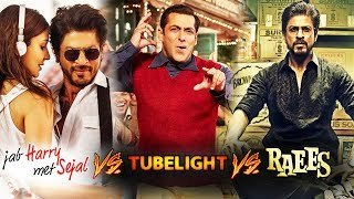 JHMSl Vs Tubelight   OPENING Day Comparison,  Jab Harry Met Sejal FAILS To Beat Raees Opening Day Co