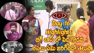 Big Boss Telugu Day 16 highlights - Star maa - Episode 17-Big Boss Luxury Budget TasK Day 17