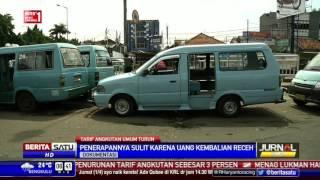 Tarif Angkutan Umum Harus Turun 3 Persen