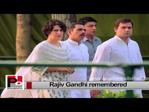 Rajiv Gandhi – a great leader who personified liberal, tolerant and secular values