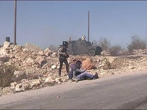 Raw- Israeli Rubber Bullets Hit Photographers News Video