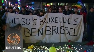 Europeans proclaim solidarity with Brussels attack victims News Video