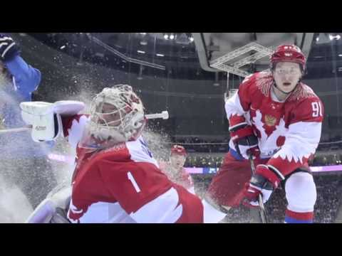 Russia Out, US and Canada Win in Men's Hockey News Video