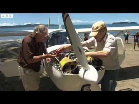 New Zealand  Plane crash lands on Martins Bay beach News Video
