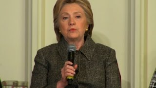 Clinton on Guns - 'We Can't Go on Like This' News Video