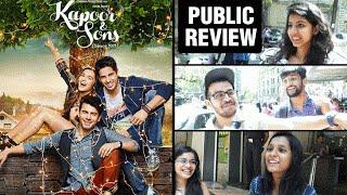 Kapoor & Sons Public REVIEW   Sidharth Malhotra, Alia Bhatt, Fawad Khan