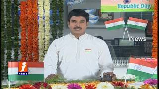 68th Republic Day Celebrations At Indira Gandhi Stadium | Vijayawada | iNews